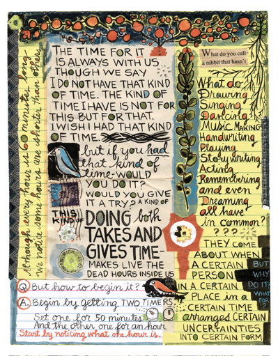 from Lynda Barry's What It Is