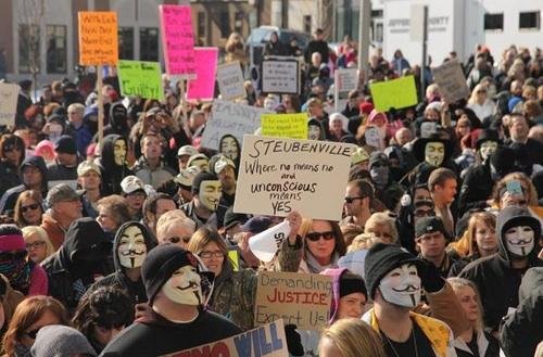 steubenville protest
