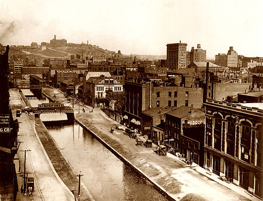 Over-the-rhine-canal
