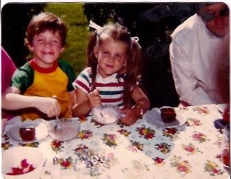 Grandma's backyard, 1981