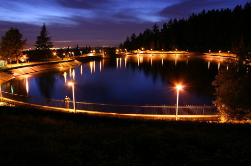 Evening at Mount Tabor Reservoir:: andyjypark
