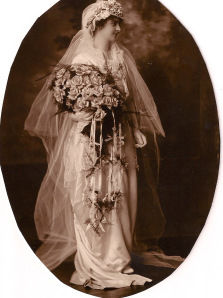 Alice on her wedding day, June 10, 1914