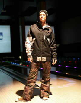 Model Alex Green on the Big Chill 2012 runway.