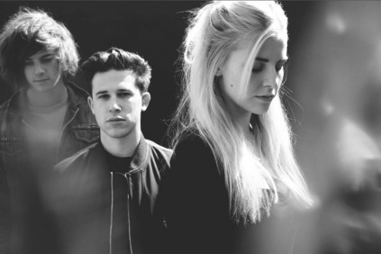 From left: Dot Major, Dan Rothman & Hannah Reid of London Grammar
