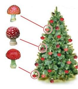 xmas-tree-mushroom