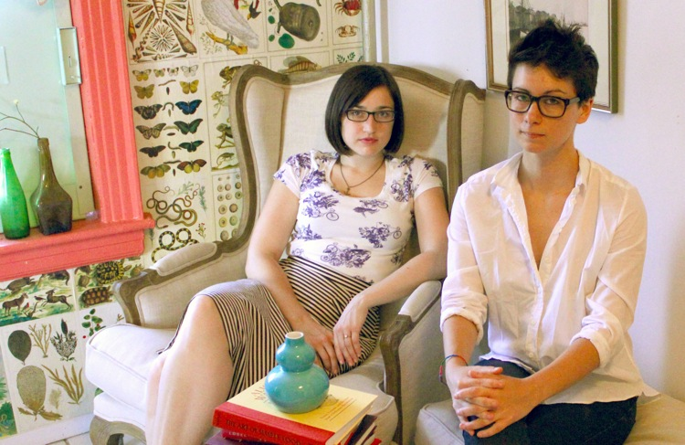 Beth Newell and Sarah Pappalardo of women's media outlet, Reductress.