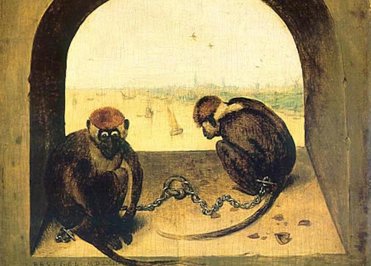 """Brueghel's """"Two Monkeys"""""""