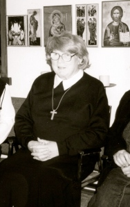 Dr. Ellsworth at Canadian convent, 2001