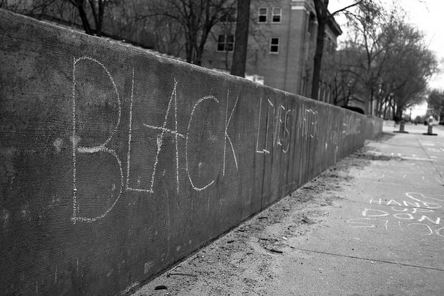 Black Lives Matter :: photo by Phil Roeder