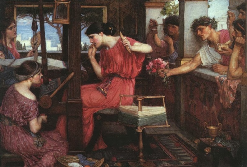 Penelope -Suitors-Waterhouse