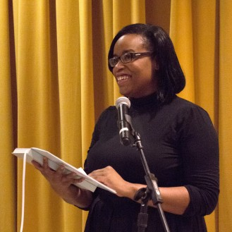 "Erica Buddington: ""Do you know what life is like / to have your skin resemble the color of weapons?"""